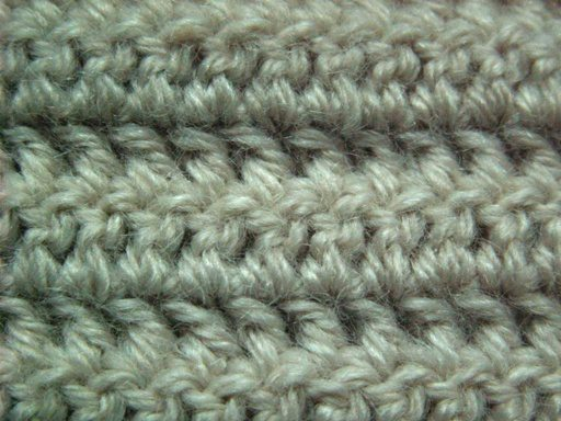 Crochet Stitches Tr : Double crochet looks like this! image source