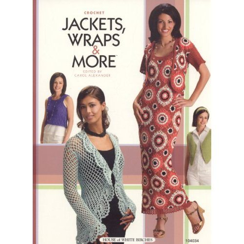 511r65Q0NuL. SS500  Crochet Books: Jackets, Wraps & More