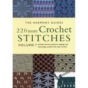51OPJc7frnL. SS500  300x300 Crochet Books: 220 More Crochet Stitches