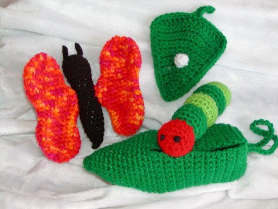 crochet butterfly pattern Crochet on Etsy: Peelable Banana Amigurumi and other cute crochet patterns