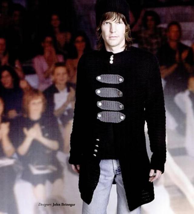 modello maglione uncinetto ispirato by marc jacobs