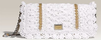 dolce and gabbana miss charles crochet bag Dolce and Gabbana Crochet Purse Sells for $1375