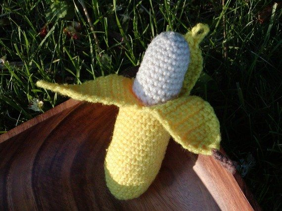 il 570xN.159616972 Crochet on Etsy: Peelable Banana Amigurumi and other cute crochet patterns
