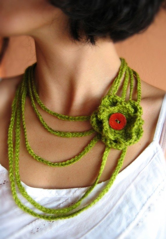 il 570xN.194033499 Crochet on Etsy: Crochet Necklace