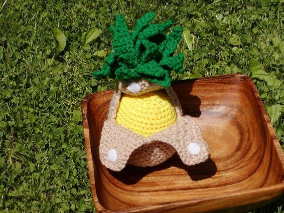 peelable pineapple crochet pattern Crochet on Etsy: Peelable Banana Amigurumi and other cute crochet patterns