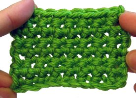 Single Crochet Around Knitting - How to Single Crochet a Border