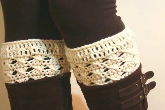 crochet boot cuffs pattern Crochet on Etsy: Purple Convertible Shrug and other crochet patterns