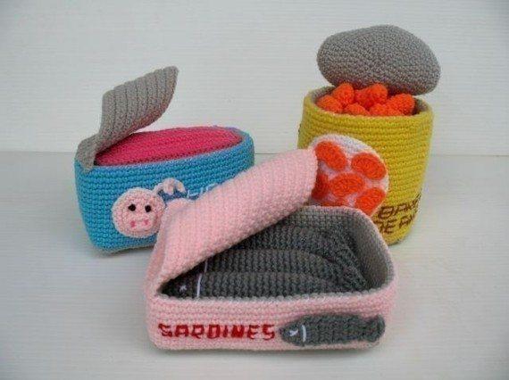 How to Crochet Amigurumi Food - Craftfoxes | 426x570