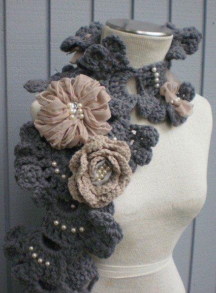 crochet neckwarmer
