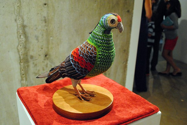 crochet pigeon Crochet Artist Laurel Roth Hope