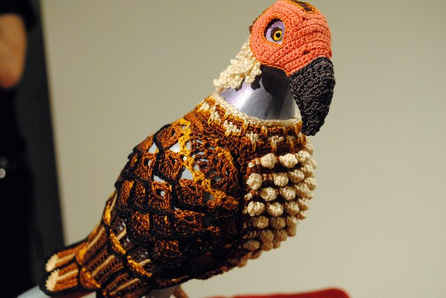 crochet pigeons Crochet Artist Laurel Roth Hope