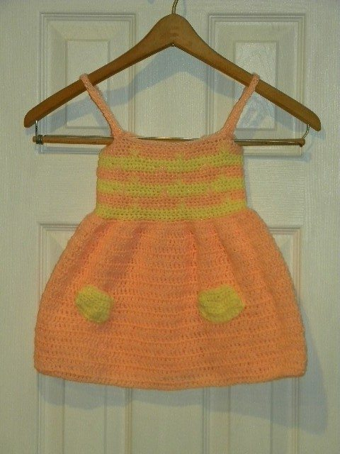 il 570xN.129947931 Crochet on Etsy: Toddler Dress