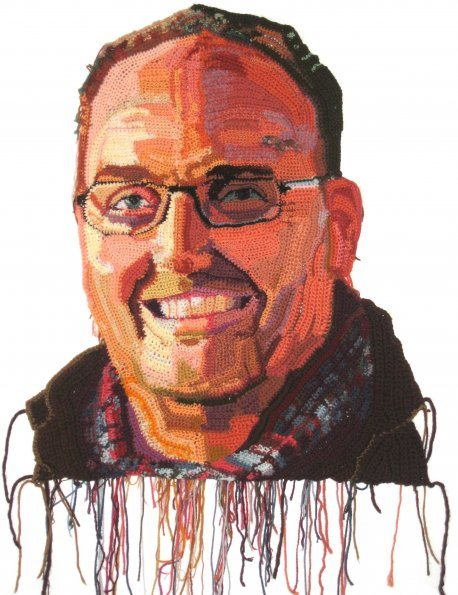 john hoke website 595 Detailed Crochet Portrait Artist: Jo Hamilton