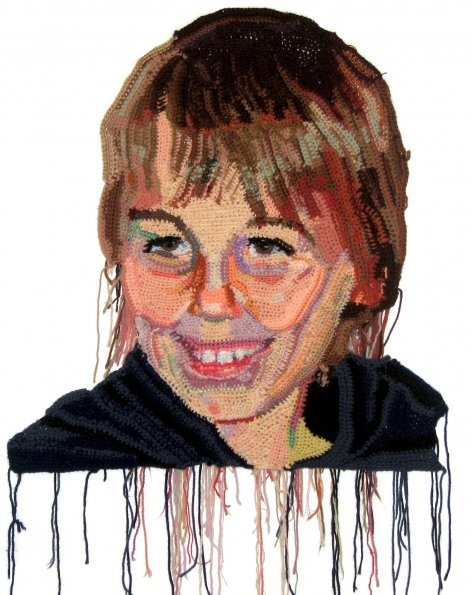 owen hoke website 595 Detailed Crochet Portrait Artist: Jo Hamilton