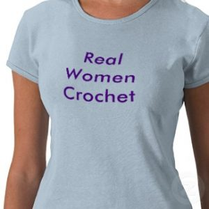 real women crochet tshirt p235900186152518887afr9m 325 300x300 Do Women Crochet Because Theyre Losing Other Domestic Skills?