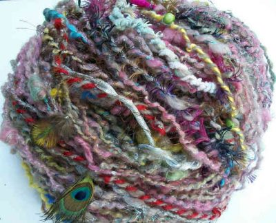 art yarn 400x324 Inspiration: 25 Different Yarns to Buy and Try
