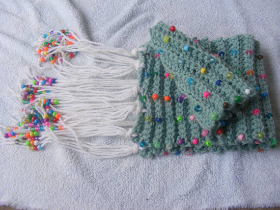 Free Knitting Patterns For Scarves With Beads : 25 Different Ideas for Crocheting a Scarf