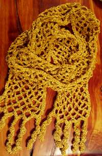 crochet mesh scarf 25 Different Ideas for Crocheting a Scarf