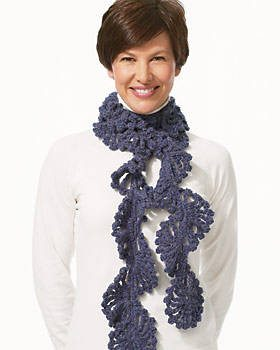 crochet scarf1 25 Different Ideas for Crocheting a Scarf