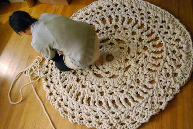 Mega Doily by Dylan Davis and Jean Lee
