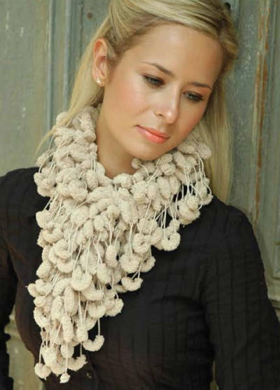 loopy crochet scarf 25 Different Ideas for Crocheting a Scarf
