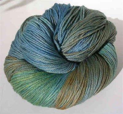 peacock yarn 400x370 Inspiration: 25 Different Yarns to Buy and Try
