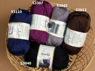 satin sparkle yarn 400x300 Inspiration: 25 Different Yarns to Buy and Try