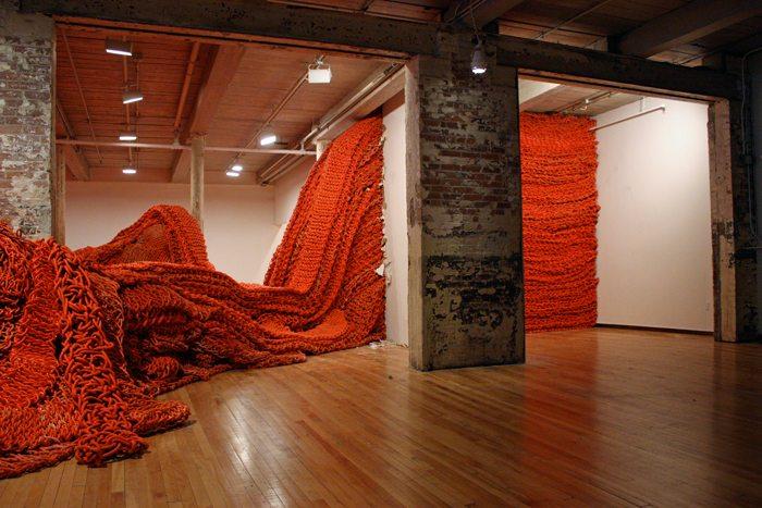 Orly Genger  ig  oss 864 No Hooks Crochet Artist Orly Genger