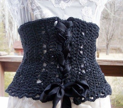 crochet corset Jumpstart Your Creativity: 25 Different Items to Crochet