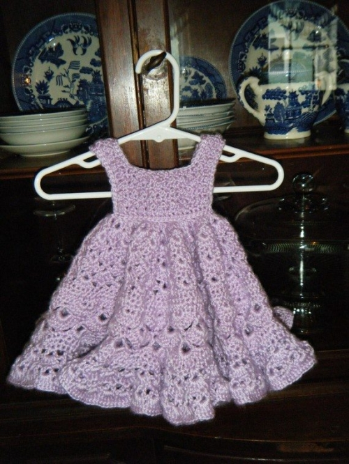 il 570xN.233703859 500x666 Crochet on Etsy: Baby Dress