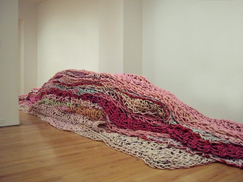 orly genger plump1 No Hooks Crochet Artist Orly Genger