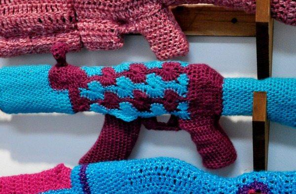 crochet guns
