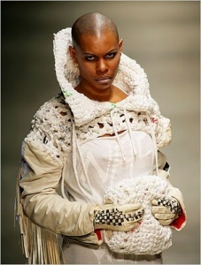 Fashion East 227x300 25 Designers Who Have Put Crochet on the Runway