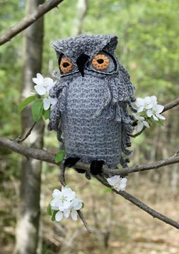 Hooter by Nicky Epstein Crochet Owls to Watch Over Kids in Foster Care