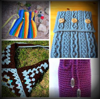 crochet bag patterns 400x396 625 Crochet Things to Inspire You!