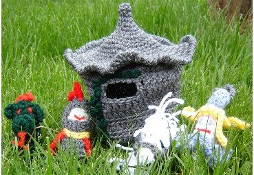 crochet castle 25 Patterns I Want to Crochet for Blog a Long (Crochet Bag Patterns)