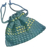 crochet drawstring bag 25 Patterns I Want to Crochet for Blog a Long (Crochet Bag Patterns)