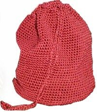 red crochet bag 25 Patterns I Want to Crochet for Blog a Long (Crochet Bag Patterns)