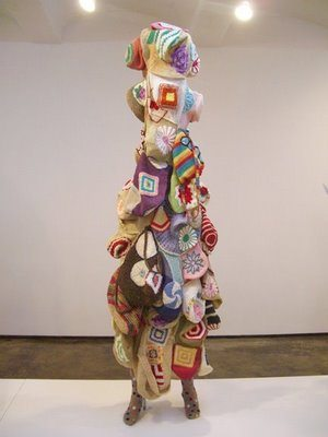 12. Crochet hat form full view  Sound Suit Crochet Artist Nick Cave
