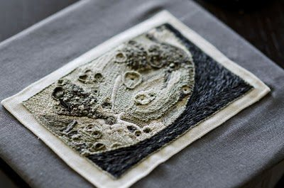 Moon 3 Crochet Art is on Last Space Shuttle!