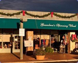 Tucson Yarn Store: Grandmas Spinning Wheel