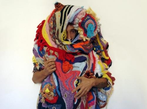 amina also lanzini 500x373 Wild Crochet Artist Aldo Lanzini