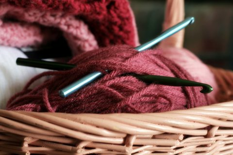 crochet hook 94 Year Old Woman Crochets 5 Hours Per Day
