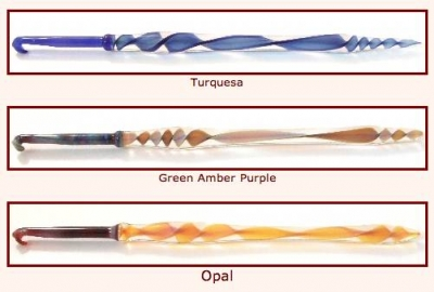 glass crochet hooks 400x270 25 Crochet Hooks I Want to Try