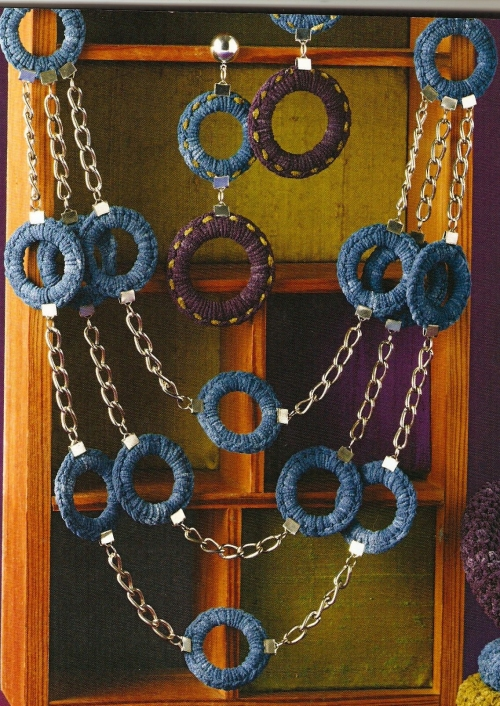 crochet 500x706 Crochet Book Review: Hooked On Jewelry