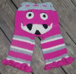 il 570xN.265438003 Crochet on Etsy: Girly Monster Pants