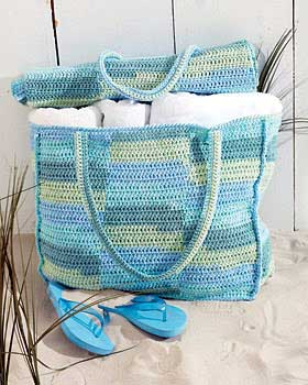 Crochet Beach Mat and Tote Bag 5 Must Have Crochet Items for Surfers