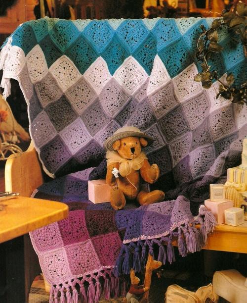 crochet 2 500x612 Crochet Book Review: Granny Squares Nanny Squares