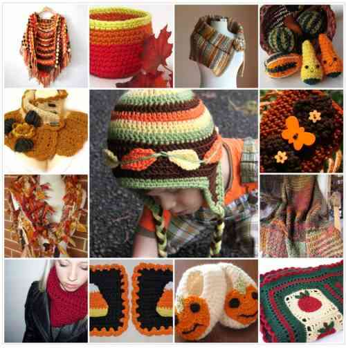 crochet Etsy Crochet Collage: Autumn is Here!