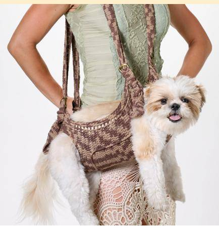 shih tzu 2 Celebrity Backup Dancer Creates Crochet Puppoose